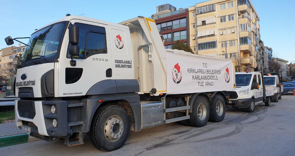 Kırklareli Belediyesi Ekipleri Hazırlıklarını Tamamladı.