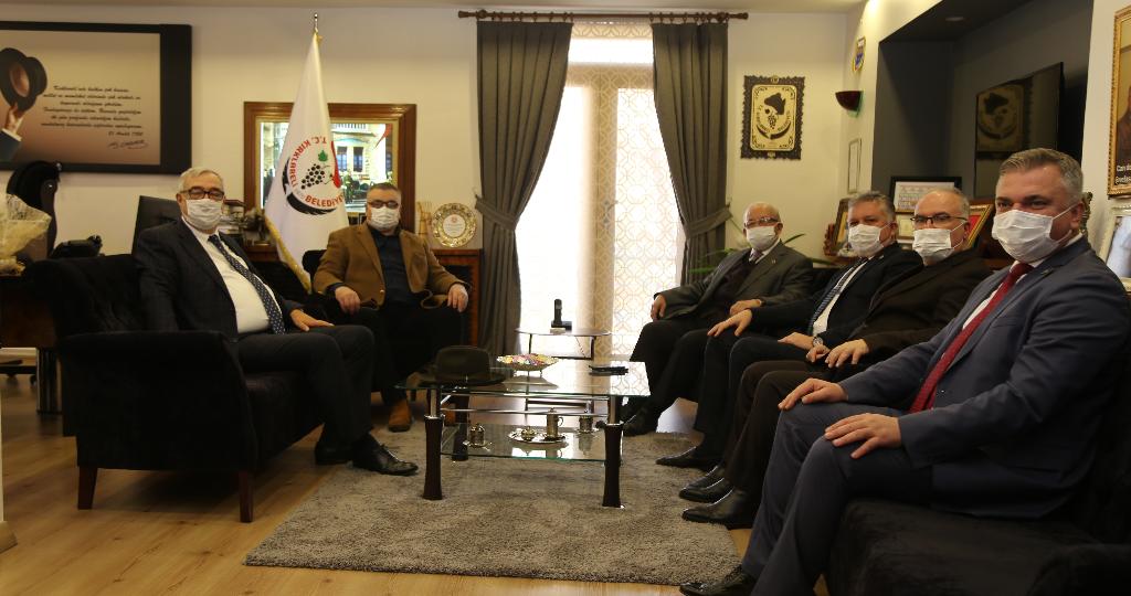 Tekirdağ, Lüleburgaz ve Babaeski Belediye Başkanlarından, Kesimoğlu'na Ziyaret