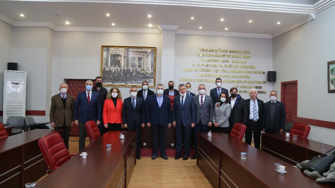 İyi Parti Yönetiminden Kesimoğlu'na Ziyaret