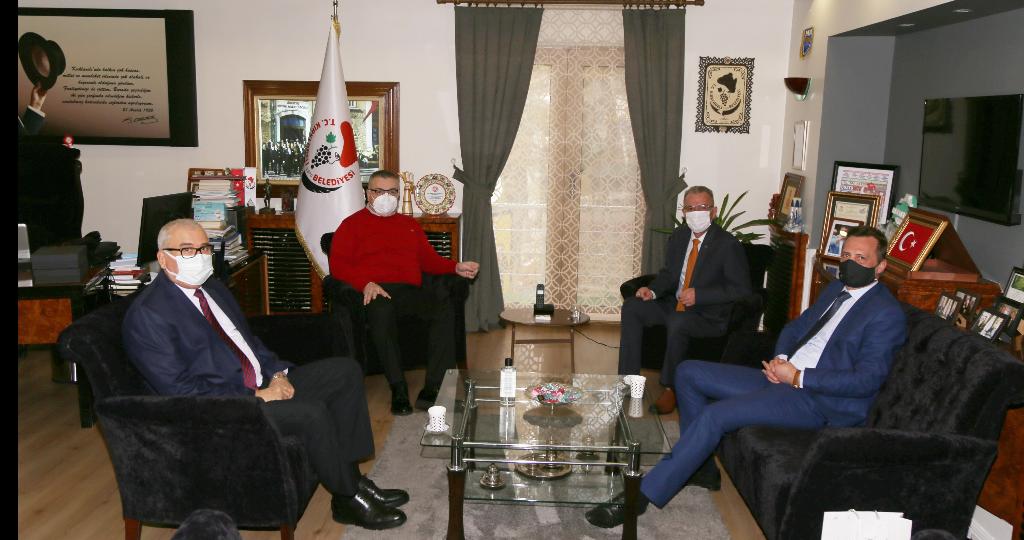Başkonsolos Dimitrov'dan Kesimoğlu'na Ziyaret