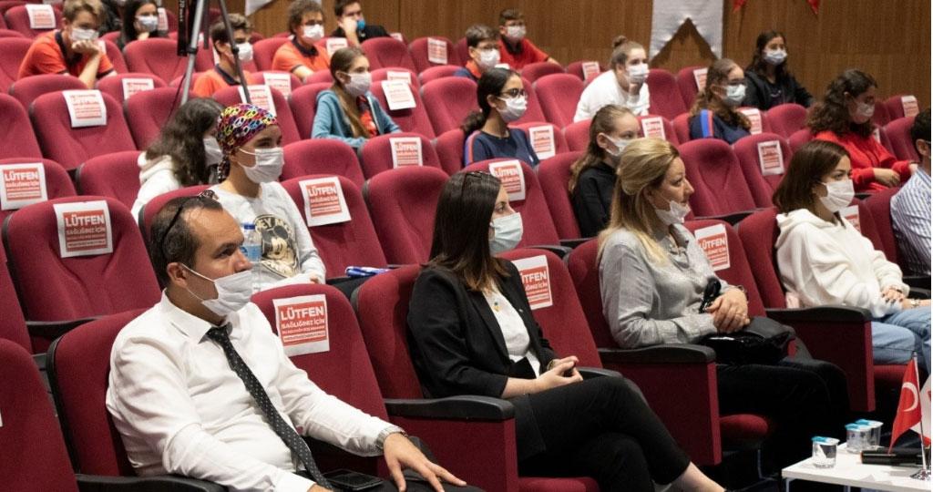 Öğrencilere Erasmus Anlatıldı