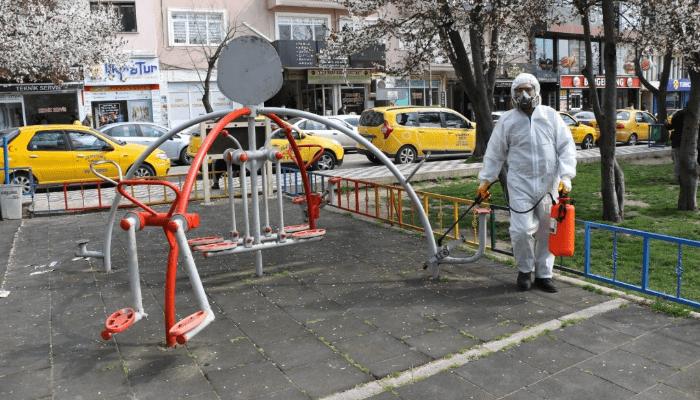 Kırklareli Belediyesi Tedbiri Elden Bırakmıyor