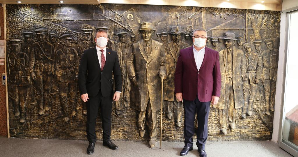 Belarus Cumhuriyeti İstanbul Başkonsolosu Aleksei Shved'dan Başkan Kesimoğlu'na Ziyaret