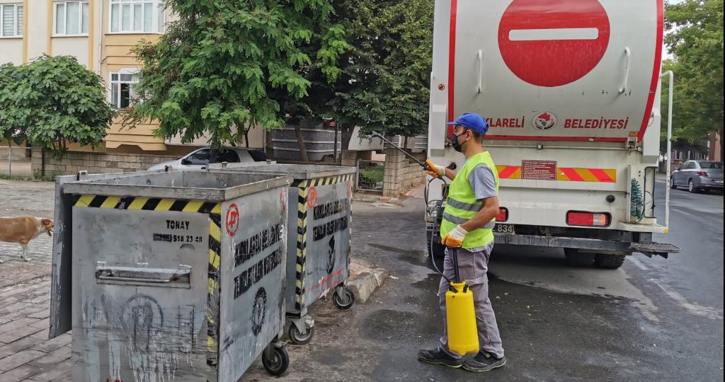 Kırklareli Belediyesi Sivrisinek ve Haşereye Geçit Vermiyor