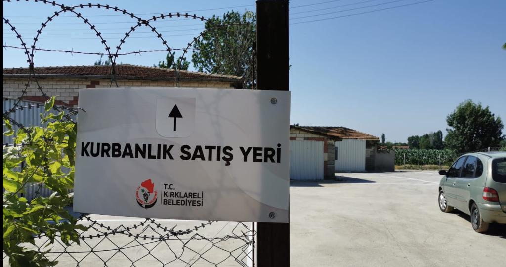 Kırklareli Belediyesi Kurban Satış Yerlerini Hazırladı